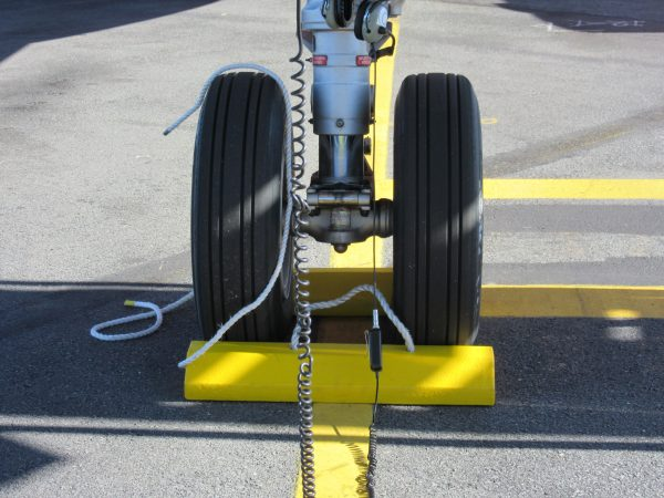 Aviation Wheel Chock - Small to Medium Aircraft