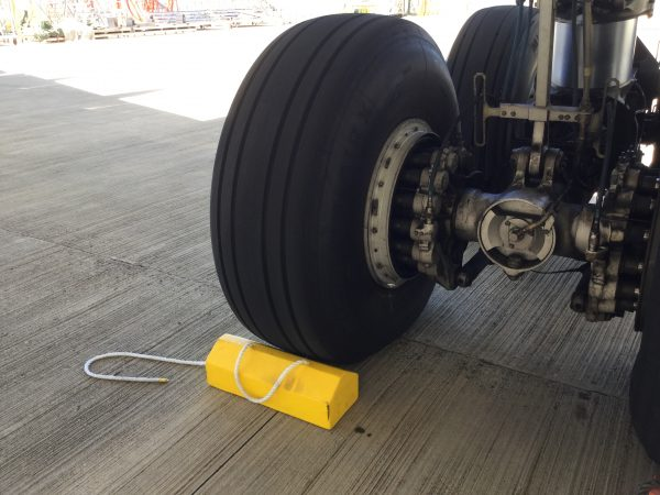 Aviation Wheel Chock - Medium to Large Aircraft