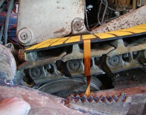 Dozer Maintenance Mat