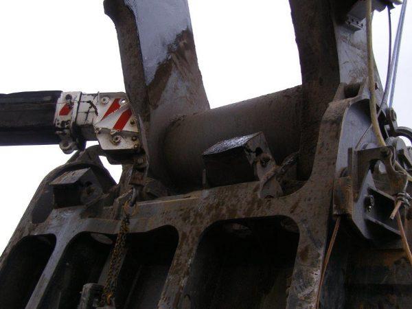 Shovel Bucket Bumper Blocks