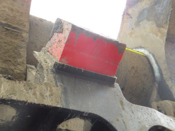 Bucket Bumper Block