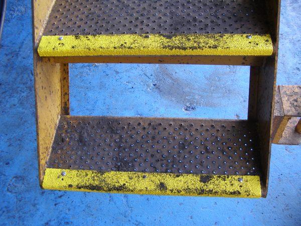 Slip Resistant Step Nosing